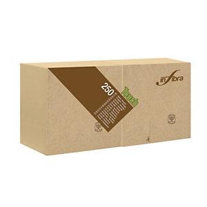 Tovagliolo Madre Terra Touch, Carta 100% ecologica, 2 veli, Goffrato, 25 x 25 cm, Beige (confezione 250 pezzi)