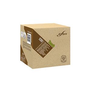 Tovagliolo Madre Terra Touch, Carta 100% ecologica, 2 veli, Goffrato, 33 x 33 cm, Beige (confezione 100 pezzi)
