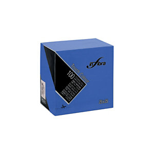 Tovagliolo monouso in pura cellulosa Touch Color, 2 veli, Goffrato, 25 x 25 cm, Blu (confezione 100 pezzi)