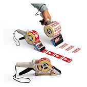 Towa dispenser voor verpakkingsetiketten en verzendetiketten