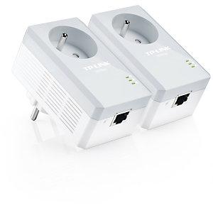 TP-Link Kit 2 adaptateurs CPL AV500+ avec prise intégrée - 500Mbps