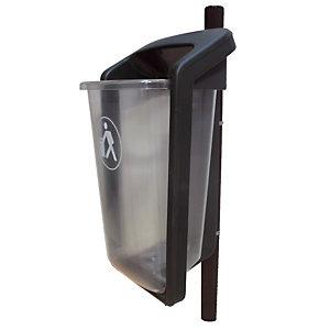 Transparante design vuilnisbak Sulo 50 L
