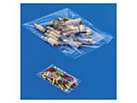 Transparante gebundelde plastic zakken