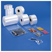 Transparante plastic buisfolie grote lengte 50 micron