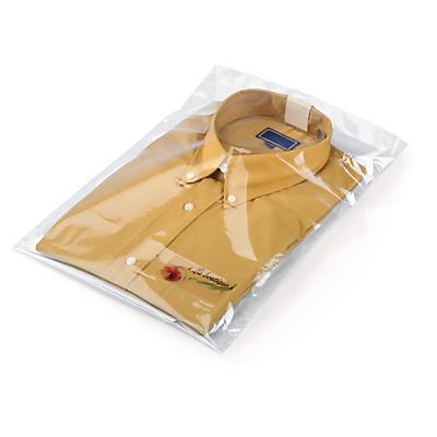 Transparante productetiketten in polyester rechthoekig