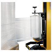 Transparante rekfolie voor machinaal wikkelen, 120% rekbaar