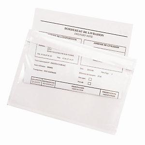 Transparante zelfklevende documentenhoesjes in een dispenserdoos, 70 micron 320x235mm