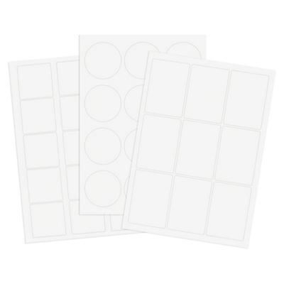 Étiquettes polyester transparentes##Transparente PET-Etiketten
