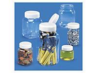 Transparente plastbeholdere