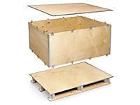 Transportlådor av plywood - ExPak P