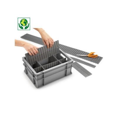 Trenneinsatz für Stapelbehälter