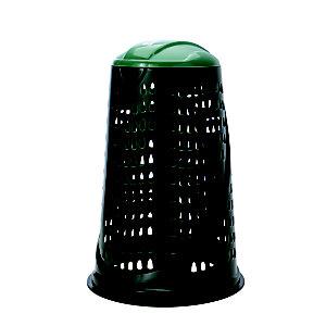 Trespolo portasacco immondizia, 110 l, Verde