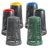 Trespolo raccolta differenziata colorato capacità 110 litri