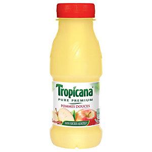 TROPICANA 12  bouteillesPure Premium® Jus de pommes douces - bouteille PET de 25 cl