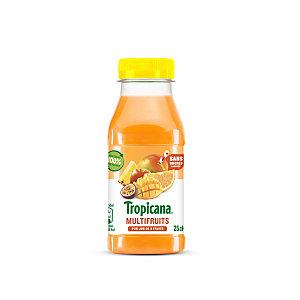 Tropicana Pure Premium® Jus multifruits - bouteille PET de 25 cl