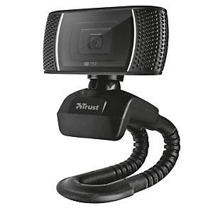 Trust Webcam HD 720p Trino, USB 2.0, Nero
