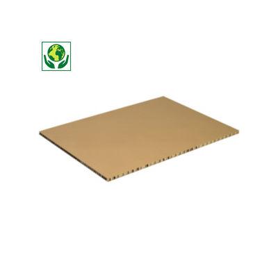Plaque en carton alvéolaire##Tussenblad van karton