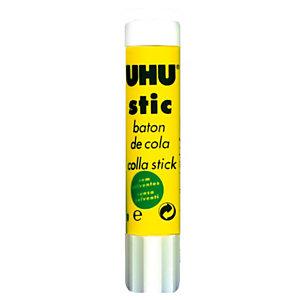 Uhu Colla in stick, Senza solvente, Lavabile, 8 g