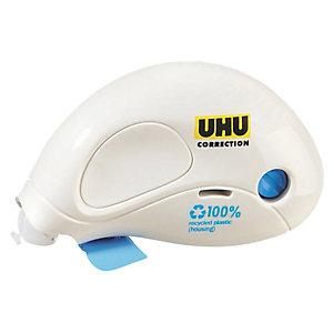 UHU Correttore a nastro Compact Mini - 5mm x 6mt - 80% plastica riciclata - Uhu