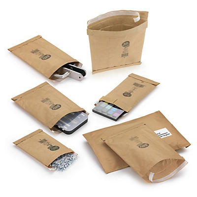 Déstockage : Pochette matelassée papier 65 % recyclé##Uitverkoop: Gewatteerde papieren envelop 65% gerecycled