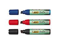 Uitverkoop: Onyx viltstiften BIC met extra brede schuine punt