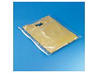 Uitverkoop: Plastic zak met zipsluiting, polyethyleen 70 micron