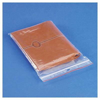 Déstockage : Sachet plastique à fermeture zip Rajagrip 60 microns##Uitverkoop: Transparant plastic gripzakje Rajagrip 60 micron