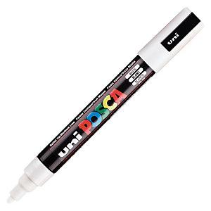 UNI Posca PC-5M - Marqueur peinture Pointe conique 2,5 mm - Blanc