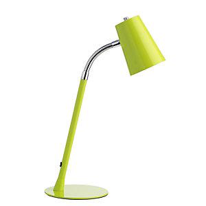 Unilux Flexio 2.0 Lampada da scrivania LED, Metallo, Verde lime