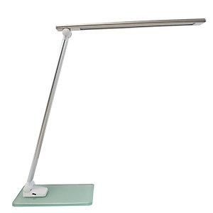 UNILUX Lampada da tavolo a Led Popy - 6W - alluminio/vetro - Unilux