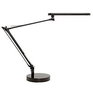 Unilux Mambo Flexo LED, aluminio y ABS, negro