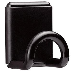 Unilux Patère Design magnétique  - 1 patère - noir