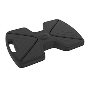 Unilux Repose-pieds ergonomique pour station de travail assis-debout Updown - Noir