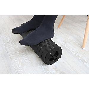 Unilux Repose-pieds à roulettes, EVA, noir