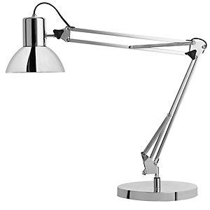 Unilux Success 80 Lampada da scrivania a LED, Cromo