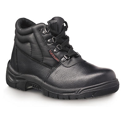 Unisex Chukka safety boots with protective midsole