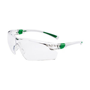 UNIVET Occhiali di protezione 506UP, Lenti panoramiche in policarbonato trasparente