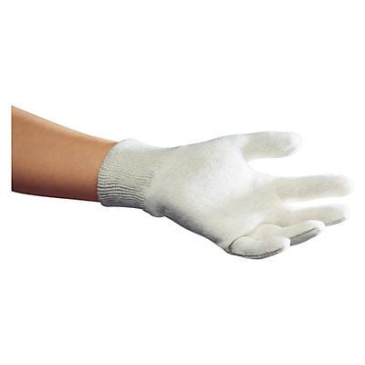 Úpletové bavlnené rukavice