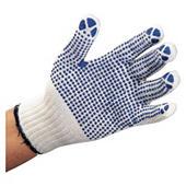 Úpletové rukavice s terčíky