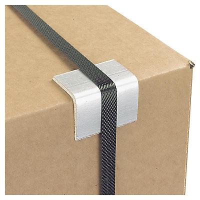 UTFÖRSÄLJNING: Bandskydd av kartong - Vid bruk av packband - grå
