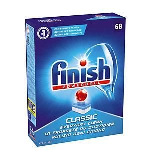 Vaatwasmachinetabletten lange cyclus Finish Calgonit Powerball Classic, 68 tabletten