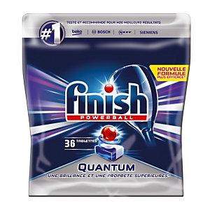Vaatwasmachinetabletten lange cyclus Finish Calgonit Quantum, 36 tabletten