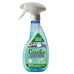 Vaporisateur Carolin nettoyant surfaces modernes 3 en 1 vaporisateur 400 ml
