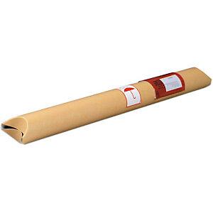 VARIO-PACK 20 tubes d'expédition fermeture de brisure, 610x58mm