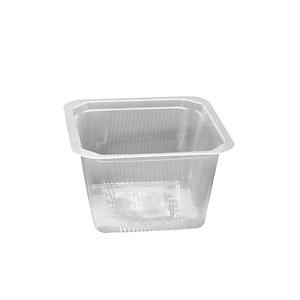 Vaschetta gastronomia in PP Linea Professional Catering, Termosaldabile, Riciclabile, 13,7 x 13,7 x 8 cm, Capacità 900 ml, Trasparente (confezione 648 pezzi)