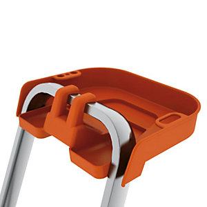 Vaschetta porta oggetti per scale in alluminio