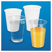 Vasos de plástico desechables