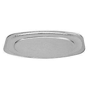 Vassoio piccolo da portata in alluminio per alimenti, Formato V35, 35,1 x 24,3 x 2,7 cm (confezione 10 pezzi)