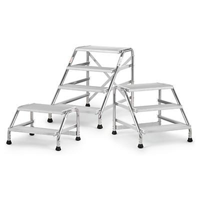 Marchepied fixe##Vast aluminium trapje