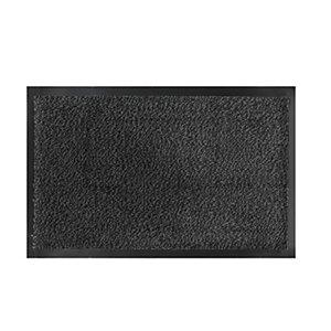 VELCOC Zerbino asciugapassi Nevada - 90x120 cm - grigio antracite - Velcoc